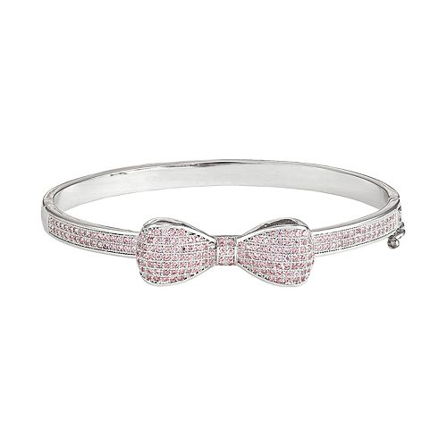 Junior Jewels Kids' Cubic Zirconia Bangle Bracelet