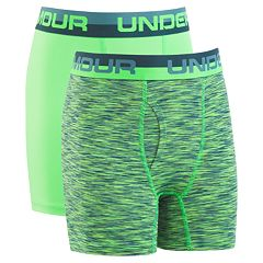 Boys 8-20 Under Armour 2-Pack Voltage Performance Boxer Briefs