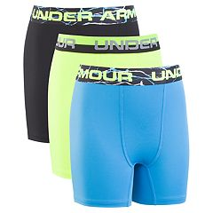 Boys 8-20 Under Armour Voltage Performance Boxer Briefs