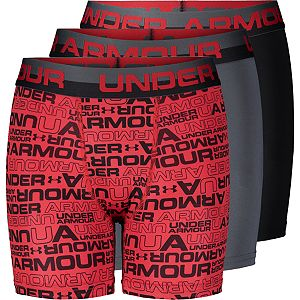 Boys 8-20 Under Armour 3-Pack Voltage Performance Boxer Briefs