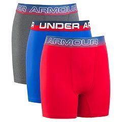 Boys 8-20 Under Armour Voltage Performance Boxer Briefs