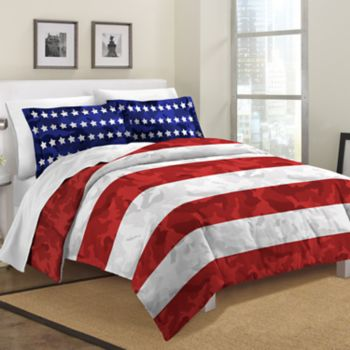 Destinations Stars and Stripes Comforter Set
