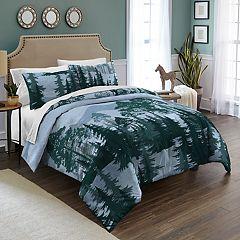 Destinations Spruce Trees Comforter Set