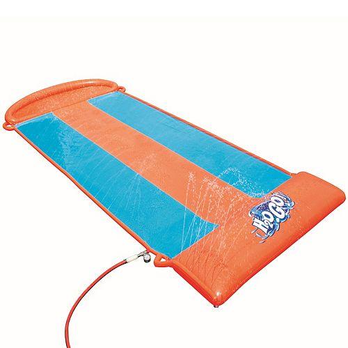 H2OGO! 18' Aqua Ramp Triple Slide