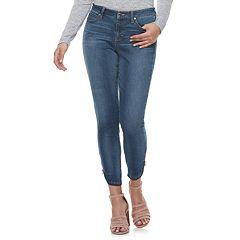 8e1bde8e134 Women s Jennifer Lopez Skinny Ankle-Zip Jeans