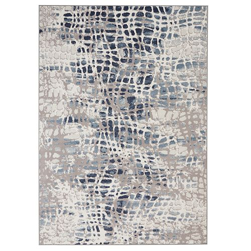 Nourison Urban Decor Slate Unique Rug