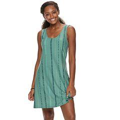 Juniors' Mudd® Bar-Back Tank Dress