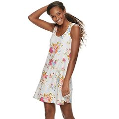 5d64ff4d4f15 Juniors  Mudd® Bar-Back Tank Dress