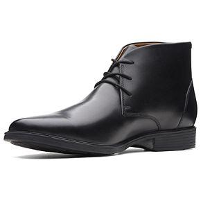 Clarks Tilden Top Men's Ortholite Waterproof Chukka Boots