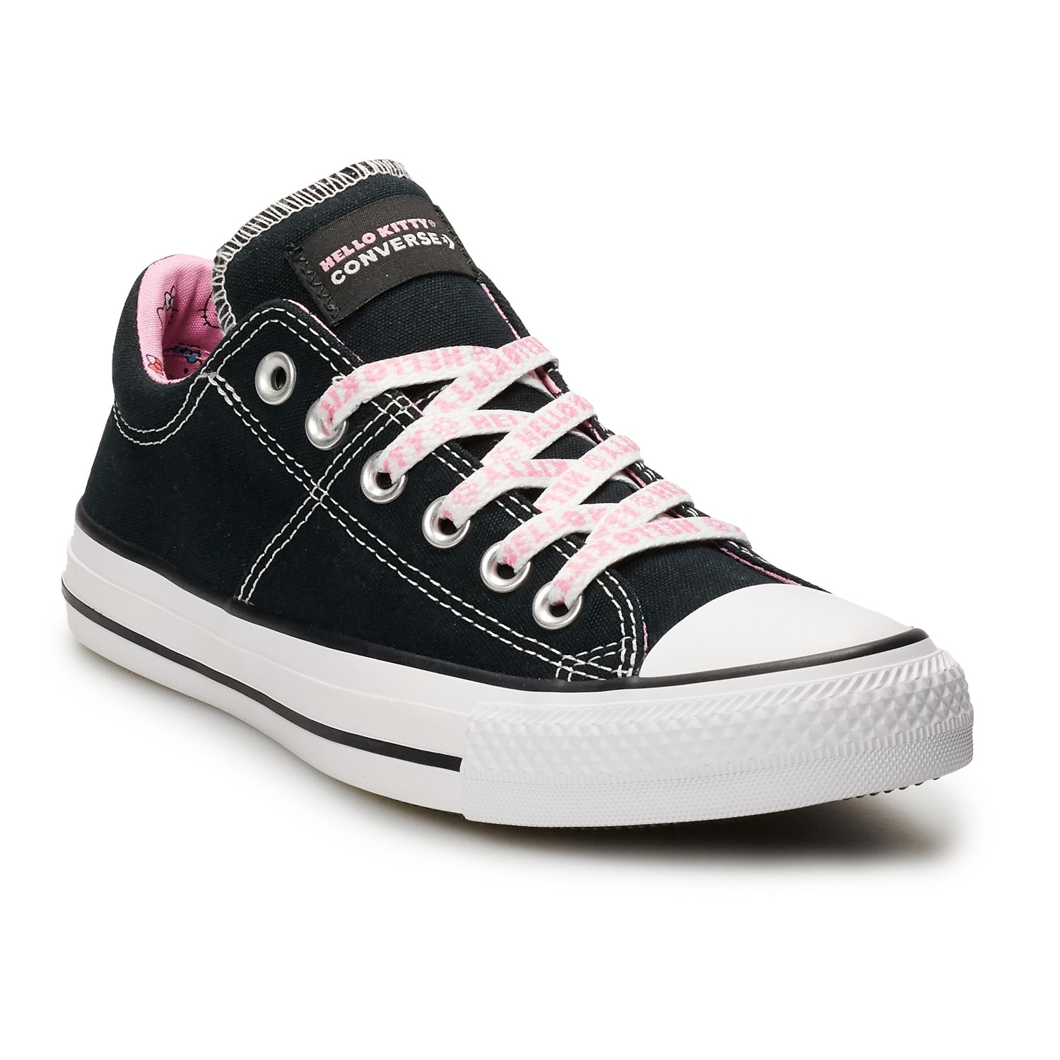converse clothing, shoes \u0026 accessories kohl\u0027s  women\u0027s converse hello kitty� chuck taylor all star madison sneakers