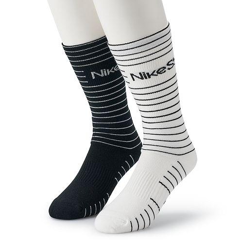 Men's Nike SB 2-pack Dry Performance Skateboarding Crew Socks