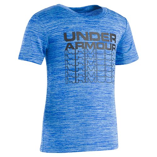 Boys 4-7 Under Armour Benchmark Space Dyed Graphic Tee