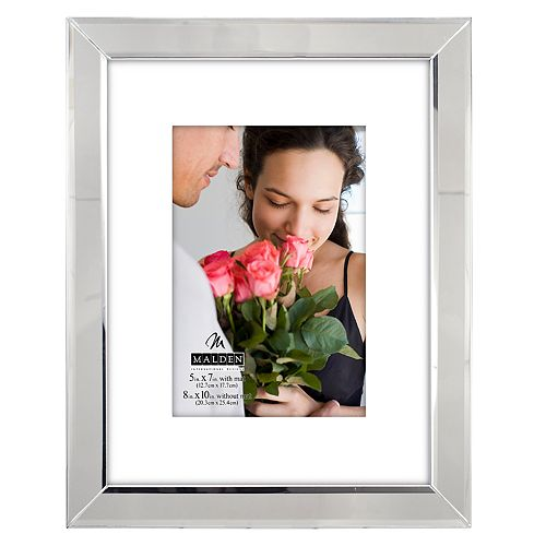 "Malden Mirrored 5"" x 7"" Frame"