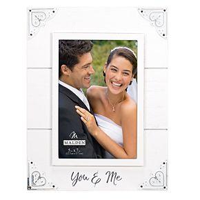 """Malden """"You & Me"""" 5"""" x 7"""" Frame"""
