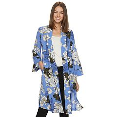 2466e894d8fa6 Women s Jennifer Lopez Floral Open-Front Kimono
