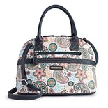 Stone & Co. Paisley Domed Satchel