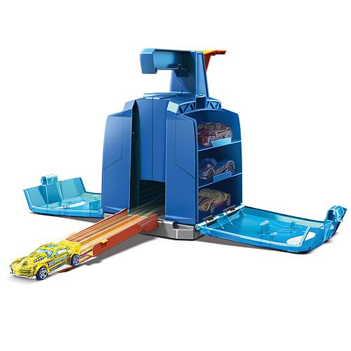 Mattel Hot Wheels Track Builder Display Launcher