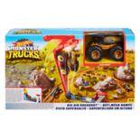 Mattel Hot Wheels Monster Trucks Big Air Breakout Playset