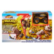 Mattel Hot Wheels Monster Trucks Big Air Breakout Playset