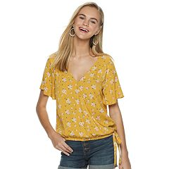 f5941204e Juniors Shirts & Blouses - Tops, Clothing | Kohl's