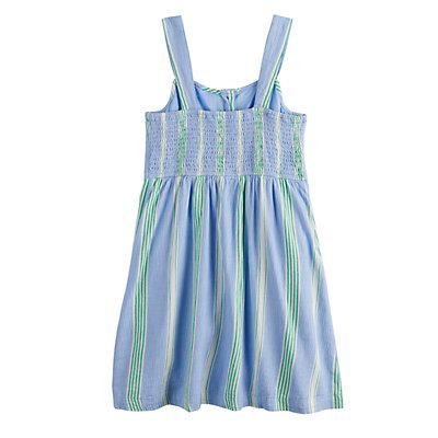Girls 7-16 SO® Button Front Dress