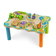 Melissa & Doug First Play Children's Jungle Wooden Activity Table