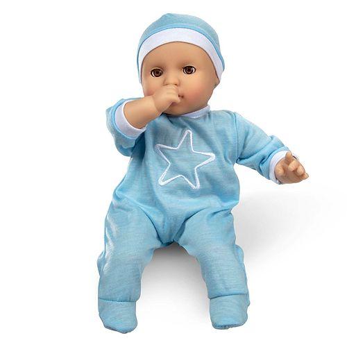 Melissa & Doug Mine to Love Jordan 12 Inch Baby Doll