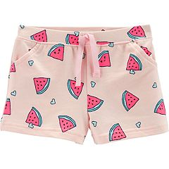 Toddler Girl Carter's Patterned Knit Shorts