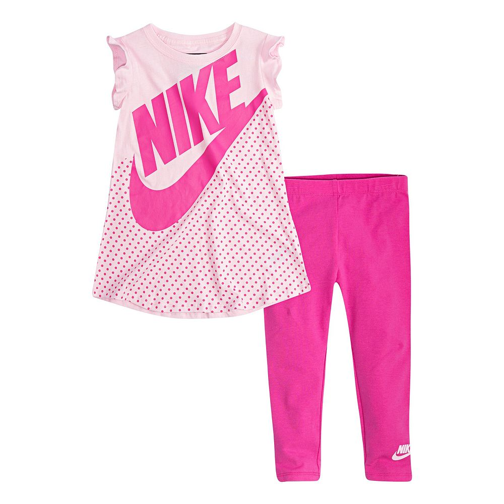 Toddler Girl Nike Tunic & Leggings Set