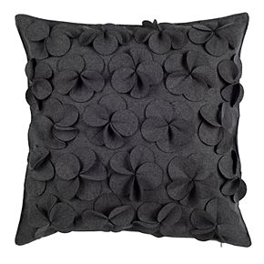 Safavieh Siena Floral Applique Pillow