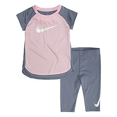 Toddler Girl Nike Dri-FIT Tunic & Capri Leggings Set