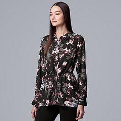 Women's Simply Vera Vera Wang Drawstring Tunic