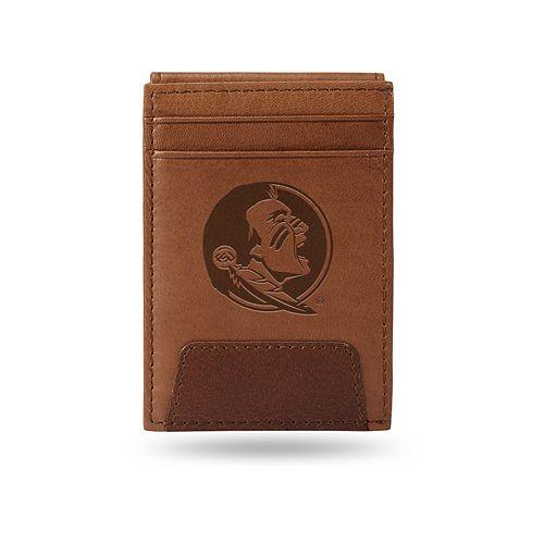 Florida State Seminoles Embossed Slim Leather Wallet