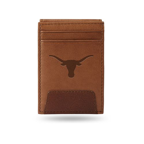 Texas Longhorns Embossed Slim Leather Wallet