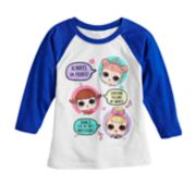 Girls 4-6x L.O.L. Surprise! Graphic Raglan Tee