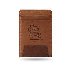 St. Louis Cardinals Embossed Slim Leather Wallet
