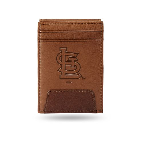St. Louis Cardinals Embossed Slim Leather Wallet