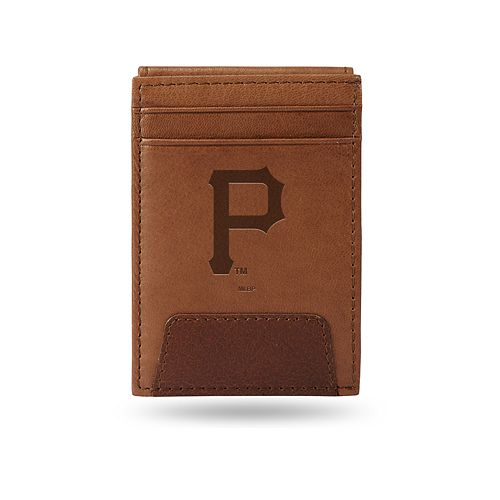 Pittsburgh Pirates Embossed Slim Leather Wallet