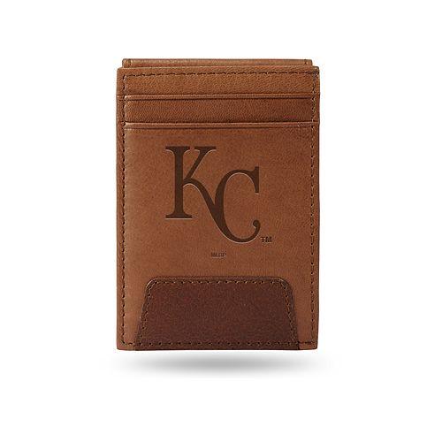 Kansas City Royals Embossed Slim Leather Wallet