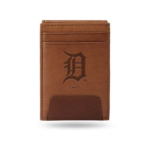 Detroit Tigers Embossed Slim Leather Wallet
