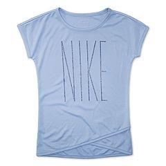 Toddler Girl Nike Dri-FIT Logo Graphic Top