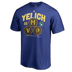 Men's Milwaukee Brewers MVP Yelich 22 Tee