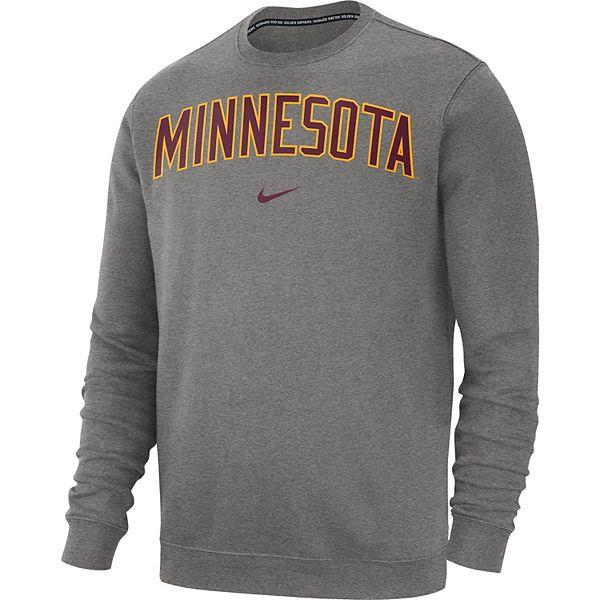 Men's Nike Minnesota Golden Gophers Club Crew Sweatshirt