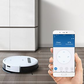 Ecovacs DEEBOT OZMO610 2-in-1 Multi-Surface Vacuuming & Mopping Robot