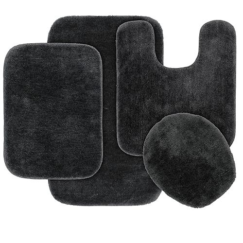 Garland Deco Nylon 4-piece Bath Rug Set