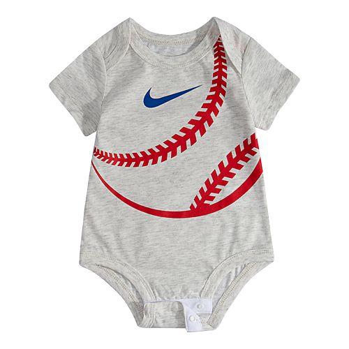 cheap for discount 4afb9 aa60a Baby Boy Nike Baseball Bodysuit