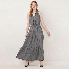 3a6a7de41d6 Petite LC Lauren Conrad Halter Maxi Dress