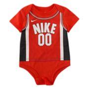 "Baby Boy Nike Basketball Jersey ""Nike 00"" Bodysuit"