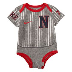 Baby Boy Nike Baseball Jersey Bodysuit