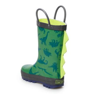 Carter's Bart-R Toddler Boys' Dinosaur Rain Boots